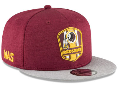 Washington Redskins New Era 2018 Official NFL Kids Sideline Road 9FIFTY Snapback Cap