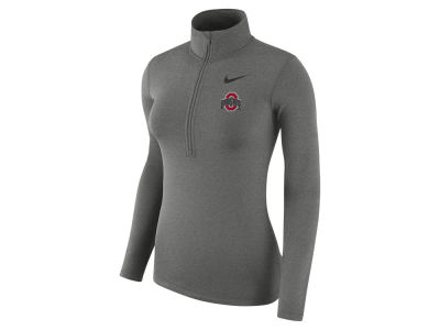 Ohio State Buckeyes Nike NCAA Women's Hyperwarm Quarter Zip Pullover