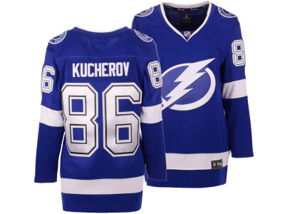 Tampa Bay Lightning Nikita Kucherov Majestic NHL Women's Breakaway Player Jersey