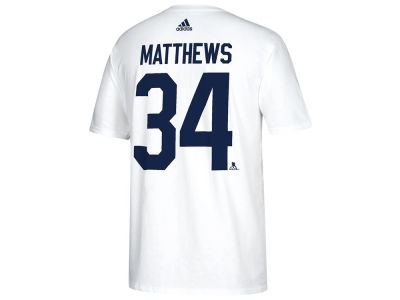 Toronto Maple Leafs Auston Matthews adidas NHL Men's Stadium Series Player T-shirt