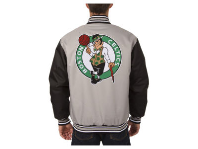 Boston Celtics JH Design NBA Men's PolyTwill Jacket