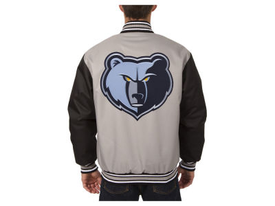 Memphis Grizzlies JH Design NBA Men's PolyTwill Jacket