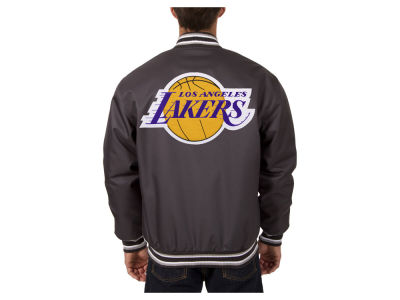 Los Angeles Lakers JH Design NBA Men's PolyTwill Jacket