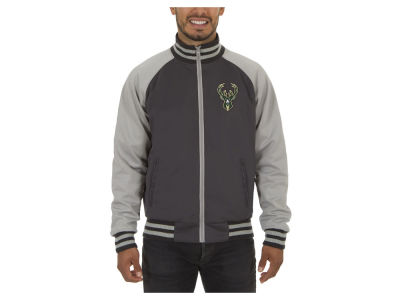Milwaukee Bucks JH Design NBA Men's Reversible Track Jacket V