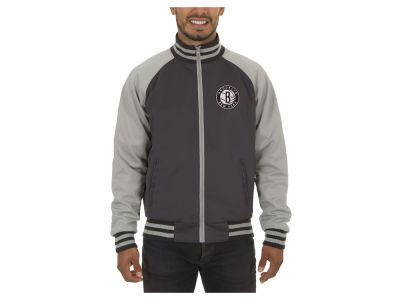 Brooklyn Nets JH Design NBA Men's Reversible Track Jacket V