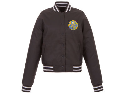 Denver Nuggets JH Design NBA Women's Polytwill Jacket
