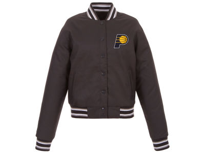 Indiana Pacers JH Design NBA Women's Polytwill Jacket