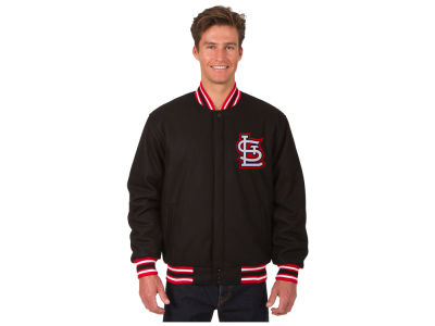 St. Louis Cardinals JH Design MLB Men's All Wool Reversible Jacket