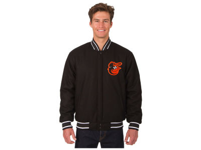 Baltimore Orioles JH Design MLB Men's All Wool Reversible Jacket