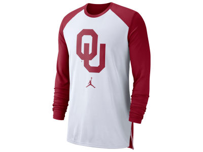 Oklahoma Sooners Nike NCAA Men's Breathe Shooter Long Sleeve T-Shirt