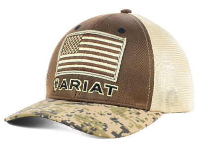 Ariat Patriot Camo Trucker Cap