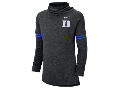 Duke Blue Devils Nike NCAA Women's Logo Funnel Neck Long Sleeve T-shirt