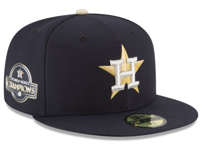 Houston Astros New Era MLB 2017 World Series Commemorative Gold 59FIFTY Cap