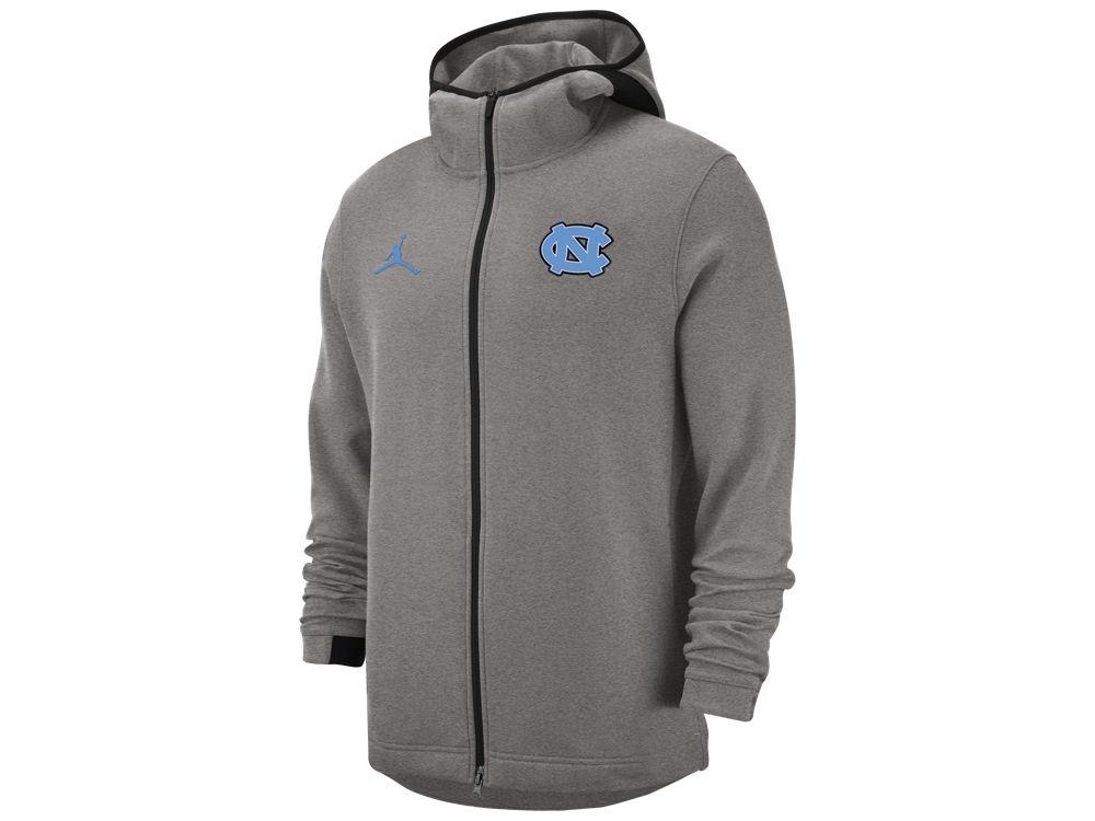 North Carolina Tar Heels Nike NCAA Men s Showtime Full Zip Hooded Jacket  fb61c4a79