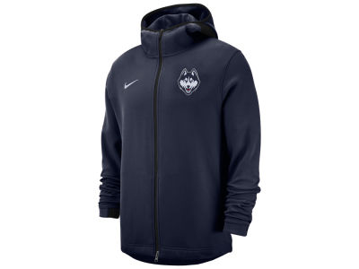 Connecticut Huskies Nike NCAA Men's Showtime Full Zip Hooded Jacket