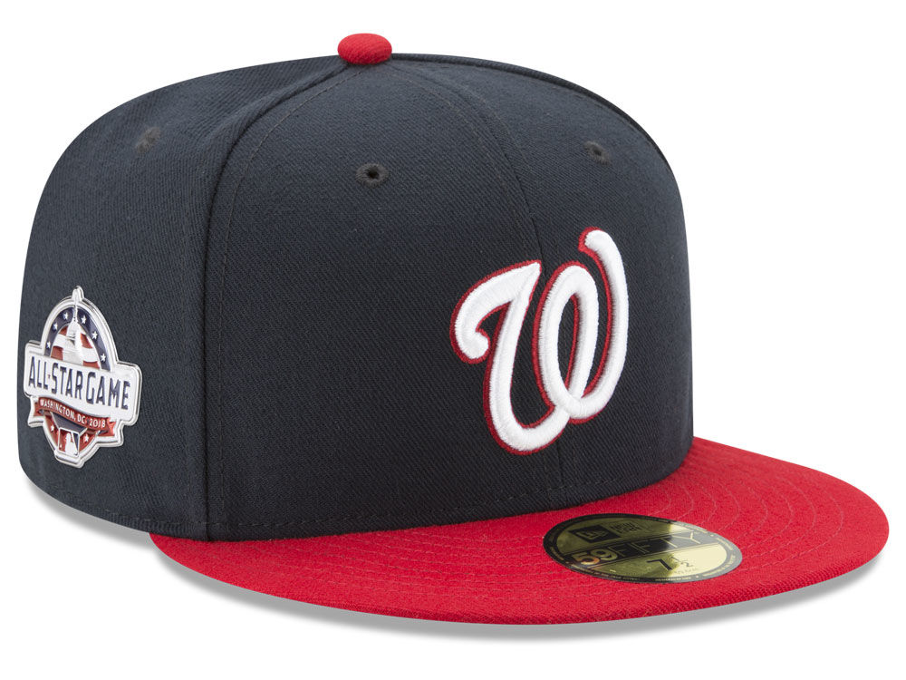 Washington Nationals New Era 2018 MLB Washington All Star Game Patch  59FIFTY Cap  9d8046ba1da