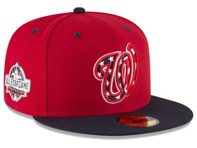 Washington Nationals New Era 2018 MLB Washington All Star Game Patch 59FIFTY Cap