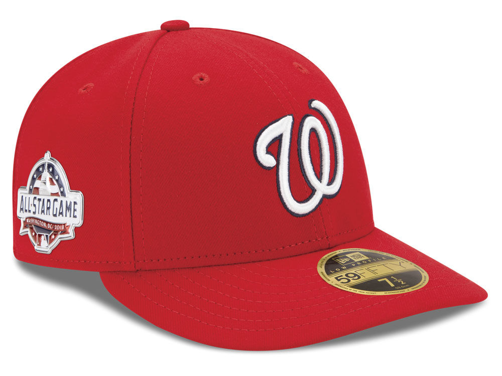 save off 37e63 c86fa ... real washington nationals new era 2018 mlb washington all star game  patch low profile 59fifty cap