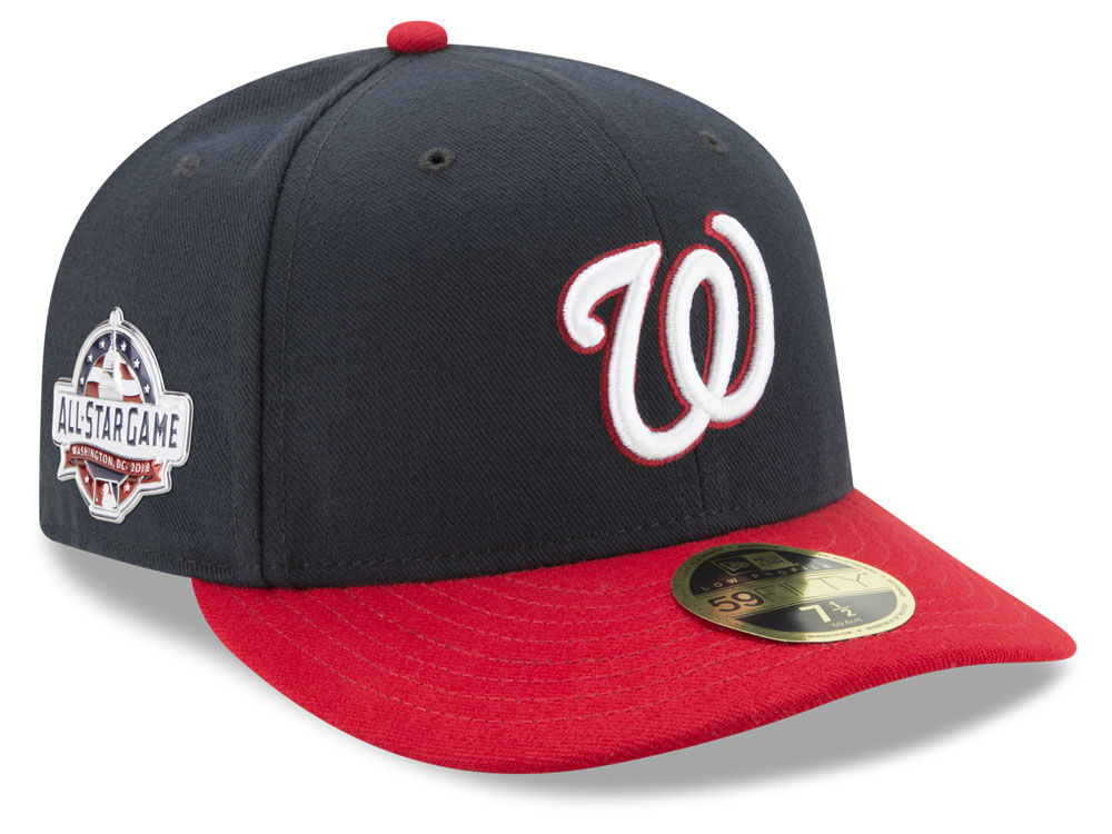 Washington Nationals New Era 2018 MLB Washington All Star Game Patch Low  Profile 59FIFTY Cap  5500c237eca9