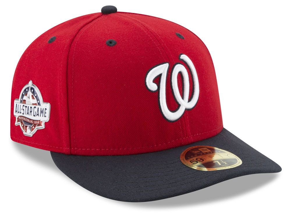 96b32f71f2d Washington Nationals New Era 2018 MLB Washington All Star Game Patch Low  Profile 59FIFTY Cap