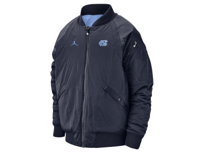 North Carolina Tar Heels Jordan NCAA Men's Iconic Diamond Shape Bomber Jacket