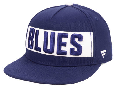 St. Louis Blues NHL Iconic Facing Snapback Cap