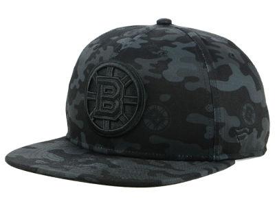 7756bc1f315 Boston Bruins NHL Branded NHL Mute Camo Snapback Cap