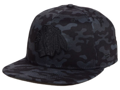 Chicago Blackhawks NHL Mute Camo Snapback Cap