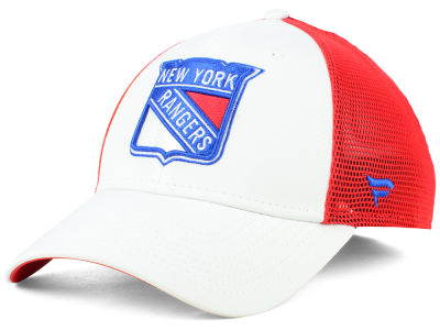 New York Rangers NHL Tech Mesh Flex Cap