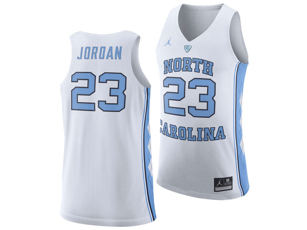 North Carolina Tar Heels Michael Jordan Jordan NCAA Authentic Basketball  Jersey  16b76626a179