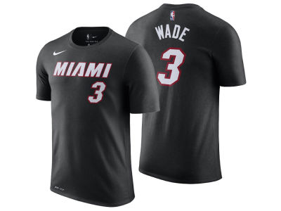 Miami Heat Dwyane Wade Nike NBA Youth Icon Name and Number T-Shirt