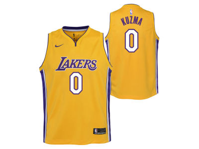 Los Angeles Lakers Kyle Kuzma Nike NBA Youth Icon Swingman Jersey
