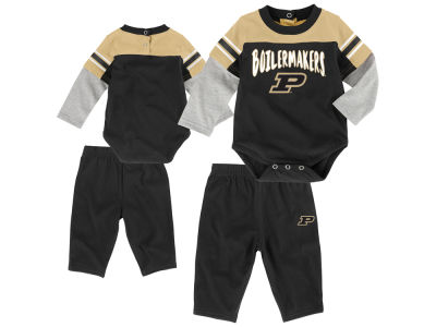 Purdue Boilermakers Outerstuff NCAA Infant Halfback Creeper Pant Set