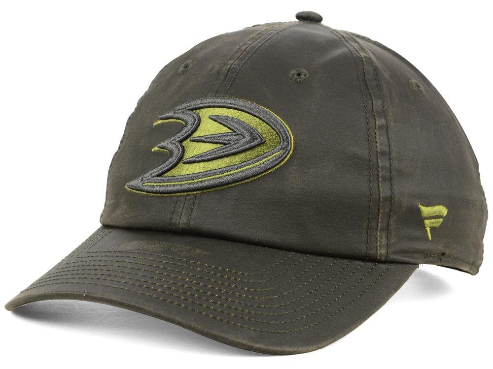 Anaheim Ducks NHL Branded NHL Fundamental Waxed Adjustable Cap  bbd88f40ebe