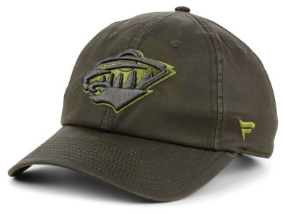 Minnesota Wild NHL Fundamental Waxed Adjustable Cap