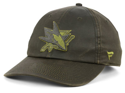 San Jose Sharks NHL Fundamental Waxed Adjustable Cap