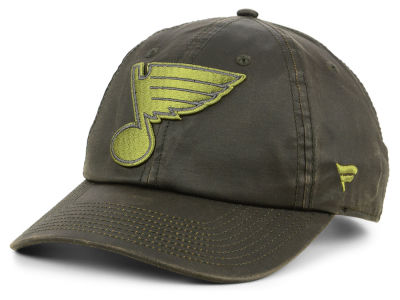 St. Louis Blues NHL Fundamental Waxed Adjustable Cap