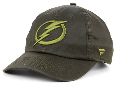 Tampa Bay Lightning NHL Fundamental Waxed Adjustable Cap