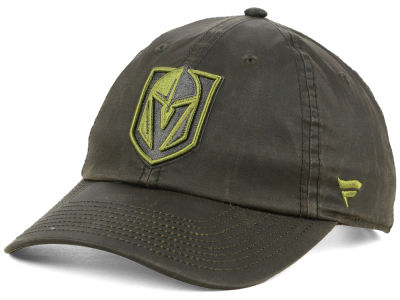 Vegas Golden Knights NHL Fundamental Waxed Adjustable Cap