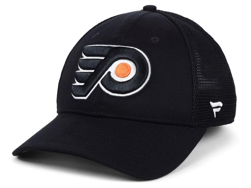 Philadelphia Flyers NHL NHL Elevated Core Trucker Cap  0643e19a654