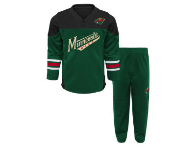 Minnesota Wild Outerstuff NHL Infant Playmaker Pant Set