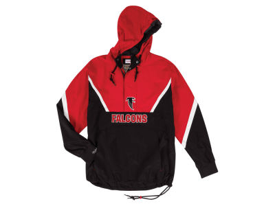 Atlanta Falcons Mitchell & Ness NFL Men's Half Zip Anorak Jacket