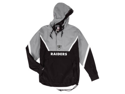 Oakland Raiders Mitchell & Ness NFL Men's Half Zip Anorak Jacket