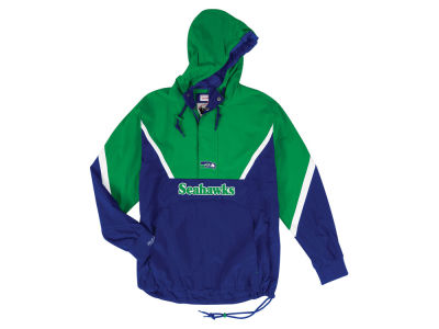 Seattle Seahawks Mitchell & Ness NFL Men's Half Zip Anorak Jacket