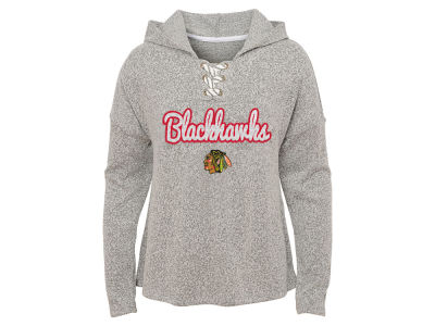 Chicago Blackhawks Outerstuff NHL Youth Girls Zenith Hacci Hoodie 82df3b111a