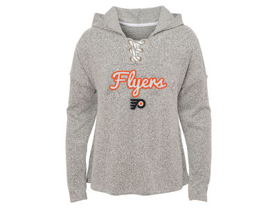 Philadelphia Flyers Outerstuff NHL Youth Girls Zenith Hacci Hoodie