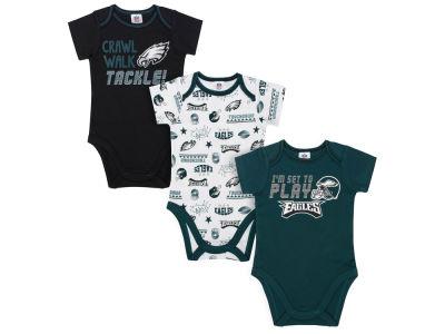 Philadelphia Eagles Gerber NFL Newborn 3Pk Bodysuit 1f9e7da6d