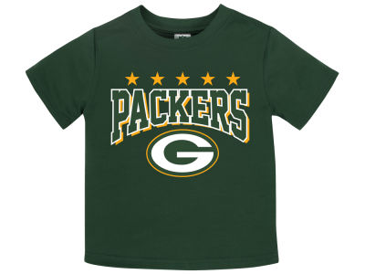 Green Bay Packers Gerber NFL Toddler Poly Football T-Shirt