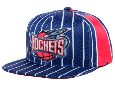 Houston Rockets Mitchell & Ness NBA Jersey Mesh Hook Snapback Cap