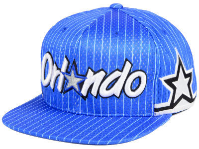 Orlando Magic Mitchell & Ness NBA Jersey Mesh Hook Snapback Cap